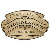 Get a pint of cask ale for £1 at Nicholson's. Voucher necessary