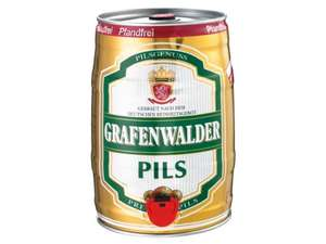 GRAFENWALDER Premium Pils, Wheat or Fest Beer 5 Litre Barrel £11.99 @ Lidl