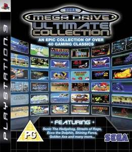 Sega Megadrive Ultimate Collection PS3 £9.98 Zavvi