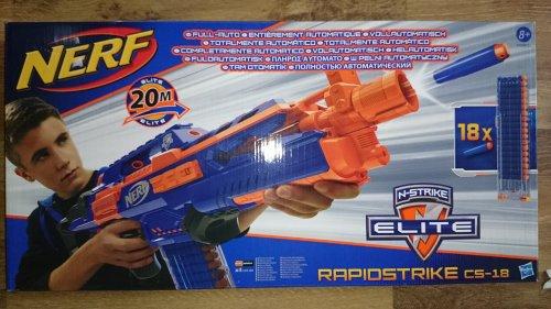 Nerf RapidStrike CS-18 £10.00 @ Tesco instore
