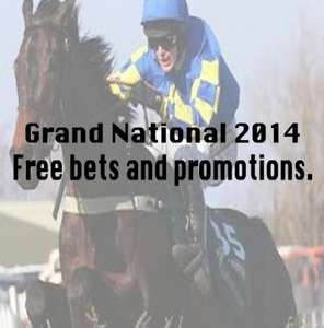 Grand National 2014 - Free bets, bonus offers and promotions (Race Sat 5th April at 4:15pm)