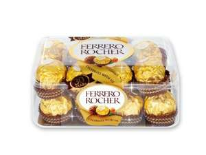 Ferrero Rocher 16 Pieces 200gms £2.99 @ Lidl (This Week Offer)