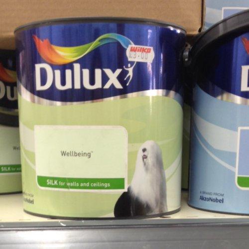 Dulux paint 2.5l £3.00 @ Wilko