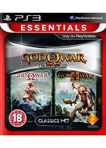 Essentials God Of War: Collection Volume 1 & Volume 2 - PS3 NEW delivered £9.99 each @ Base + 4.2% TCB