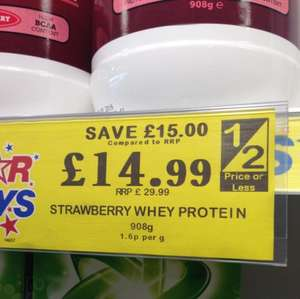Zone Nutrition Protein Powder £14.99 chocolate/strawberry @ Home Bargains