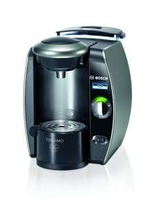 BOSCH Tassimo Fidelia Plus TAS6515GB Hot Drinks Machine + £20 voucher when registered- Titanium now £79.99 was £129.99 @ Curry`s.... most places still £130