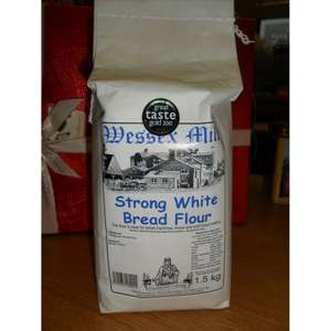 Wessex Mill Flour Strong White Bread Flour 5x1.5kg only £5.26 @ Amazon (add-on)