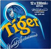 Morrisons 12 x 330ml Tiger Beer (£8 in scotland) 2 for £16 elsewhere
