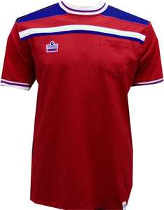 Admiral World Cup 1982 England Replica Retro T-Shirt (Red) £18.00 @ uksoccershop