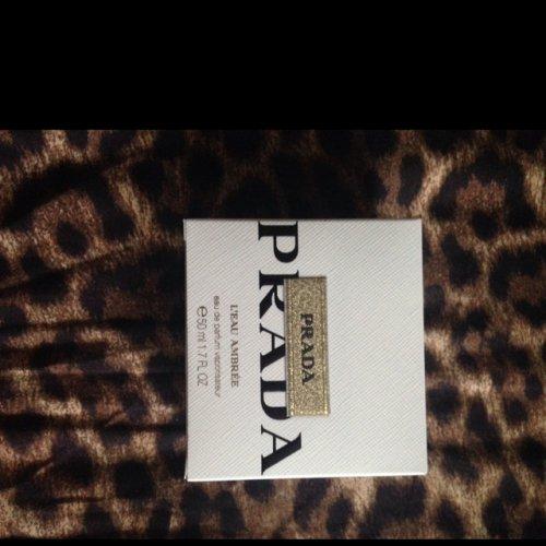 Prada L'eau Ambree eau de parfum 50ml £18.40 instore at Morrisons.