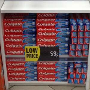 Toothpaste Colgate 100ml £0.59 @ savers