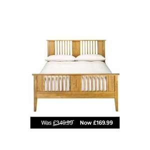 King Size Bed Frame £144.94 delivered @ Homebase