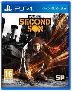 Infamous Second Son PS4 £37.75 with quidco code @ Gameseek