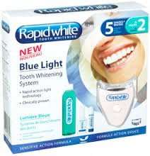 Rapid White - Blue Light Tooth Whitening System @ Boots was £30, now £15