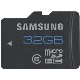 Samsung 32GB Class 6 24MB/s Micro SDHC Standard Memory Card without Adapter £10.50 delivered @ Amazon/Low Price Memory