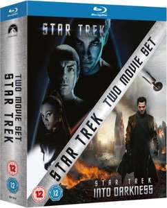 Star Trek & Star Trek: Into Darkness - 2 Movie Blu-ray Set @ Zavvi  - £12.99