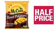 McCain Roast Potatoes (907g) was £2.00 now £1.00 @ Co-op Food
