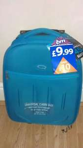 Cabin Luggage 45cm Ryanair compatible £9.99 @ B&M