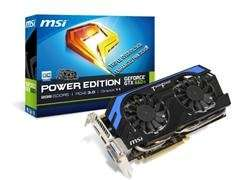 MSI NVIDIA Geforce GTX 660Ti Power Edition 2GB Graphics Card (Refurbished) @ CCL £51.48
