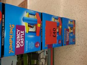 JumpKing Bouncy Castle reduced to £40 ASDA