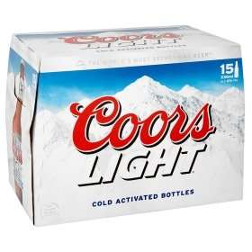 15 Bottles (330ml) Coors Light £8 or 3 for £20 (45 Bottles!) @ Asda (Instore & Online)