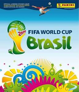 Panini FIFA World Cup Brazil Sticker Collection, 5 packs for £2! @ Asda