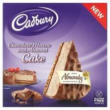 Cadbury Chocolate Mousse & Almond Cake 380G  £2.00 ( was £3.19) at Tesco