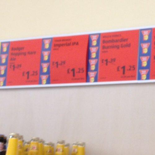 £1.25 Real Ales at Aldi