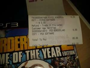 Borderlands 2 Game of the Year Edition PS3 @ Game £9.99 (£6.99 if you trade in your Borderlands 2 basic game)
