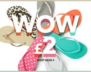 Flip Flops from George at Asda £2.00