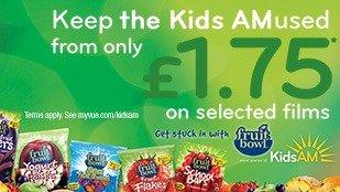 Vue Cinema Kids Holiday £1.75 showings