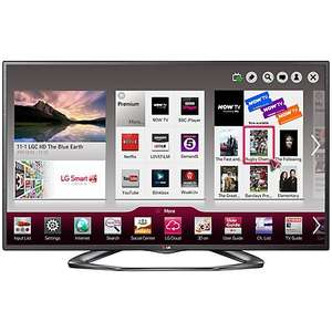 "LG 32LA620V 32"" Smart Full HD 3D LED TV with Freeview HD £237.45 (Get a 5% discount code from Quidco LG325OFFAPR to get to this price) (Plus possible 3% cashback from Quidco) @ prcdirect"