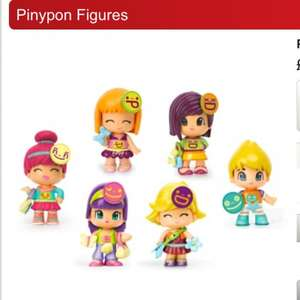 Pinypon Figures 6 to collect £2.99 BOGOF @ Smyths