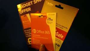 Office 365, McAfee and 500gb cloud for £59.99 @ Currys