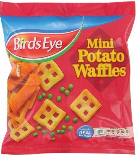 Birds Eye Mini Potato Waffles (456g) was £2.00 now £1.00 again @ Sainsbury's