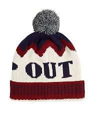 Various mens bobble and beanie winter hats £1 at New Look