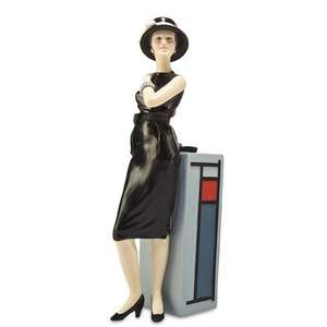 £40 off - now only £10 - 20th Century Couture Figurine 1960s Lady from collectable company Compton and Woodhouse.