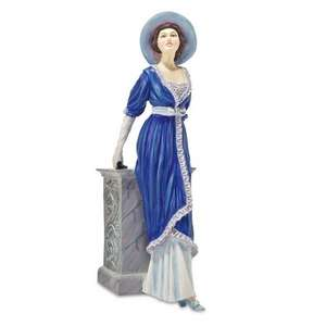 £40 off - now only £10.00 - 20th Century Couture Figurine Edwardian Lady from collectable company Compton and Woodhouse