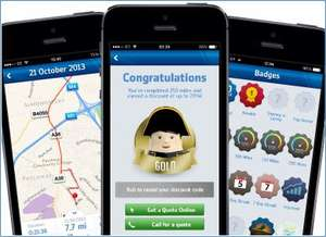 Admiral car drivers - install app, drive 250 miles with app and gain upto 20% discount on insurance?