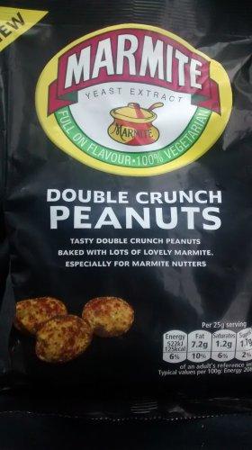 Marmite double crunch peanuts 99p B&M