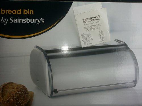 Sainsburys Braehead bread bin 70% off £4.50