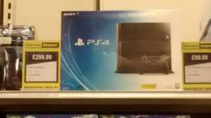 PS4 for £299.99 at Argos clearance bargains, stanley