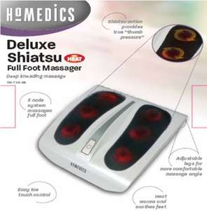 HoMedics FM-TS9-GB Deluxe Shiatsu Foot Massager £21.50 delivered @ Amazon
