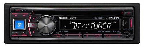 Alpine CDE-135BT Web Radio Ready CD Tuner with Bluetooth £115.00 @ Halfords