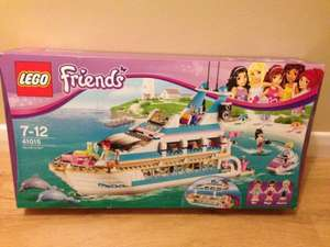 Lego Friend Dolphin Cruiser Set 41015 - £27.50 @ Sainsbury's