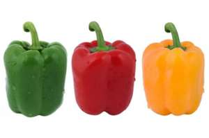 3 Mixed Peppers for 89p at ALDI