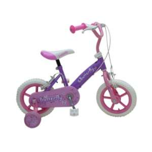 12in Butterfly Girls Bike £24.99 @ smyths toys