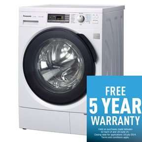 Panasonic na-140vs4 washing machine - now 443 @ thesseshop
