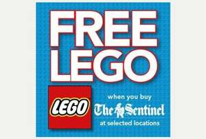 Lego set for 60p (Free with Stoke Sentinel)