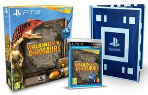 Wonderbook walking with dinosaurs PS3 £9.85 @ Amazon   (free delivery £10 spend/prime/Amazon locker)